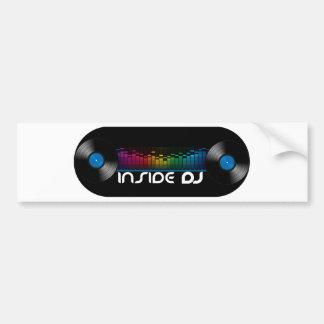 insidedj.png bumper sticker
