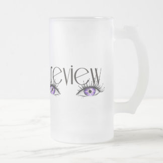 Insider's Review Logoed Merchandise 16 Oz Frosted Glass Beer Mug