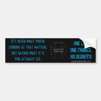 Insight Bumper Sticker