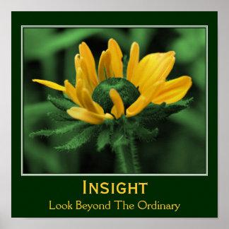 Insight Flower Inspirational Motivational Poster