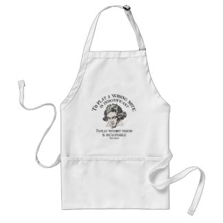 Insignficant v. Inexcusable Adult Apron