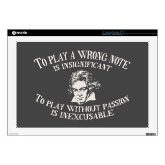 "Insignficant v. Inexcusable Decals For 17"" Laptops"