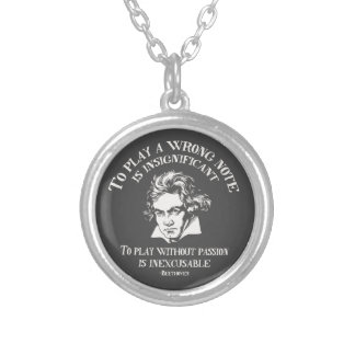 Insignficant v. Inexcusable Round Pendant Necklace