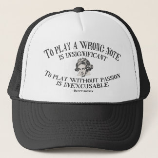 Insignficant v. Inexcusable Trucker Hat