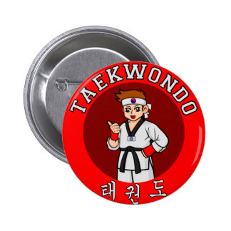 insignia 1 del individuo del Taekwondo Pin
