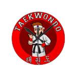 insignia 1 del individuo del Taekwondo Reloj