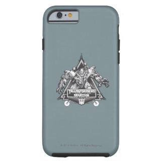 Insignia 1 del metal de Megatron Funda Para iPhone 6 Tough
