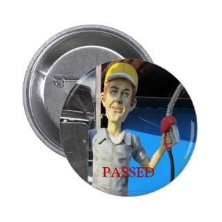 Insignia acompañante del botón de la bomba del car pins