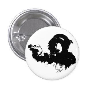 Insignia armada del chimpancé pin