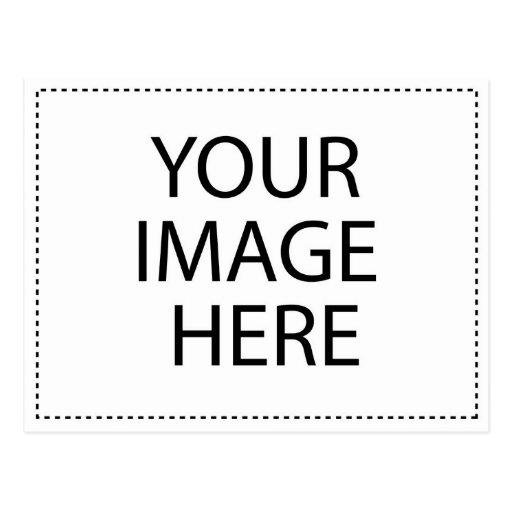 Insignia atea del botón tarjetas postales