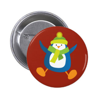 Insignia azul de salto linda del botón/Pin del Pin Redondo De 2 Pulgadas