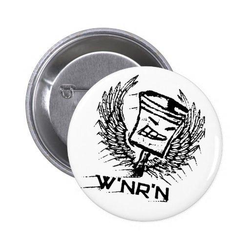 Insignia blanca original del pistón del vuelo de W Pin
