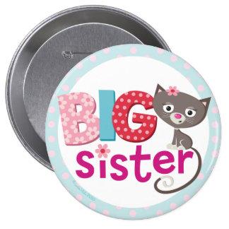 Insignia/botón de la hermana grande pin redondo 10 cm
