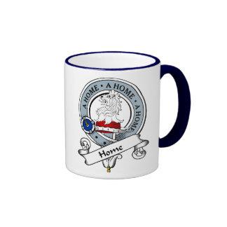 Insignia casera del clan tazas de café