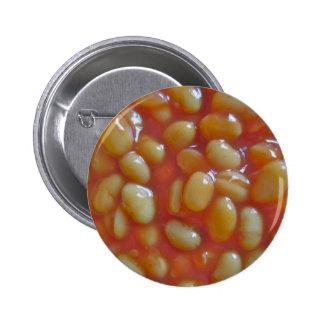 Insignia cocida del botón de las habas pin redondo de 2 pulgadas