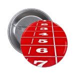 Insignia corriente del botón de la pista del atlet pins