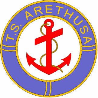 Insignia de Arethusa de los TS Fotoescultura Vertical