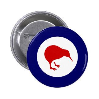 insignia de aviación militar del roundel del kiwi  pin