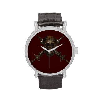 Insignia de casquillo de Moschettieri del Duce Reloj De Mano