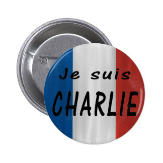 Insignia de Charlie de los suis de Je Pin Redondo De 2 Pulgadas