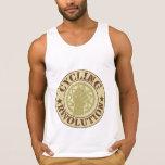 Insignia de ciclo de la revolución camisetas