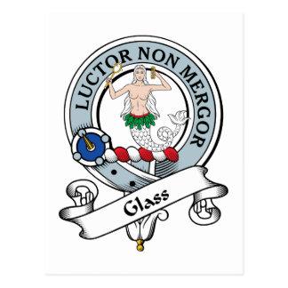 Insignia de cristal del clan postal
