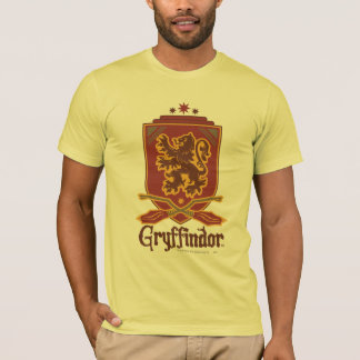 Insignia de Gryffindor Quidditch Playera