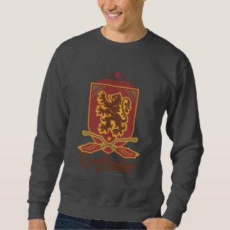 Insignia de Gryffindor Quidditch Sudadera Con Capucha