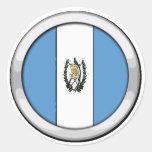 Insignia de Guatemala Pegatina Redonda
