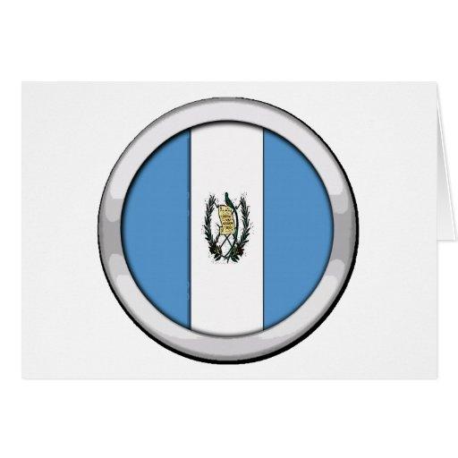 Insignia de Guatemala Tarjeta De Felicitación
