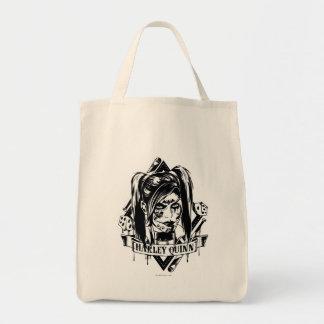 Insignia de Harley Quinn Bolsa Tela Para La Compra