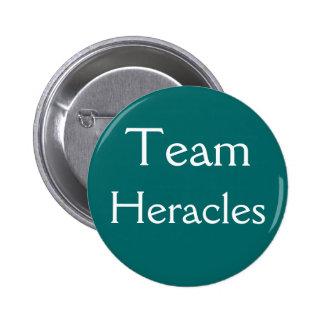Insignia de Heracles del equipo Pin Redondo De 2 Pulgadas