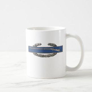 Insignia de infantería de combate taza de café