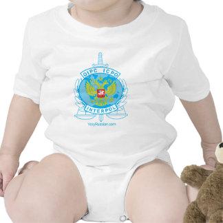 insignia de Interpol Rusia Traje De Bebé