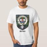 Insignia de la camiseta/del tartán/del clan del playera