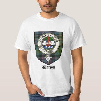 Insignia de la camiseta/del tartán/del clan del playeras