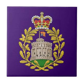 Insignia de la casa de Windsor Azulejo Cerámica