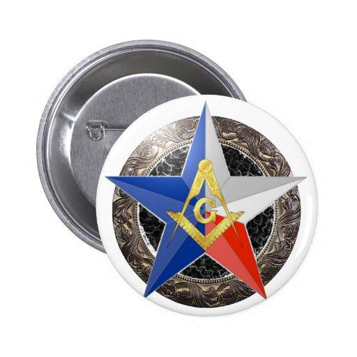 Insignia de la estrella pin