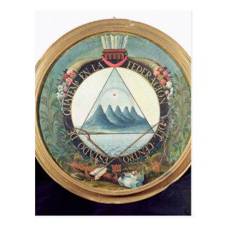 Insignia de la federación de Guatemala Postal