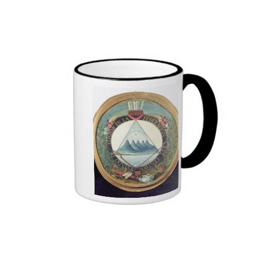 Insignia de la federación de Guatemala Taza De Café