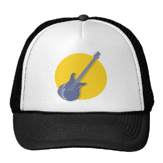Insignia de la guitarra gorro