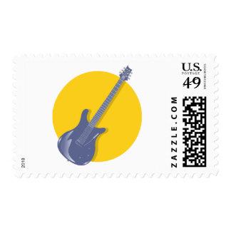 Insignia de la guitarra sellos