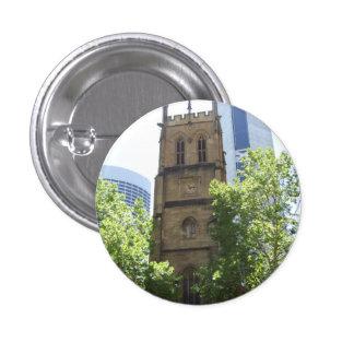Insignia de la iglesia de la ciudad pin