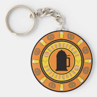 Insignia de la jarra de cerveza de Oktoberfest Llaveros Personalizados
