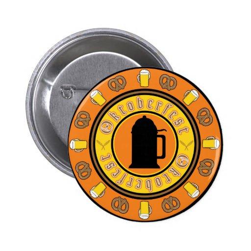 Insignia de la jarra de cerveza de Oktoberfest Pins