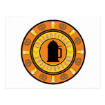 Insignia de la jarra de cerveza de Oktoberfest Postal