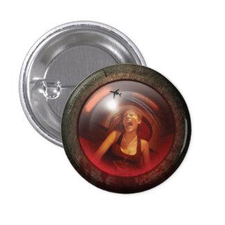 Insignia de la lente del chillón del botón de páni pin