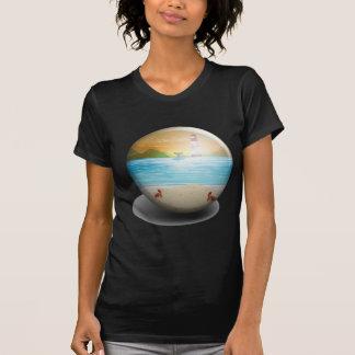 Insignia de la playa remeras