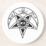 Insignia de la sigma de Kappa Posavasos Para Bebidas