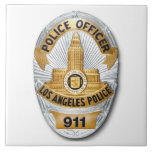 Insignia de LAPD Tejas